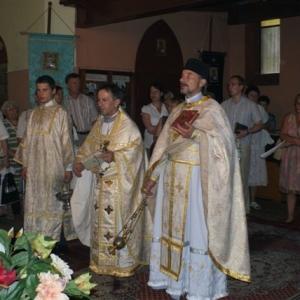 Nabożeństwo pamięci śww. apostołów Piotra i Pawła (12.07.2010)
