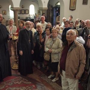 Odwiedziny szczecińskich parafian w cerkwiach Berlina (19.05.2012)