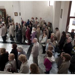 Pierwsza liturgia w nowej cerkwi (2009)-10
