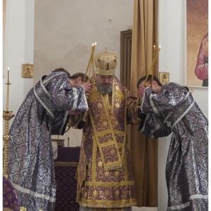 Pierwsza liturgia w nowej cerkwi (2009)-12