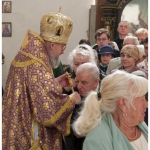 Pierwsza liturgia w nowej cerkwi (2009)-13