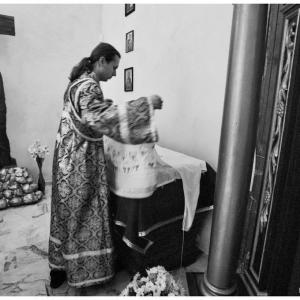 Pierwsza liturgia w nowej cerkwi (2009)-14