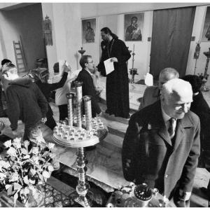 Pierwsza liturgia w nowej cerkwi (2009)-19