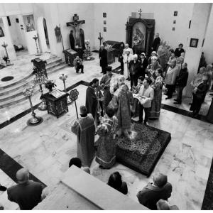 Pierwsza liturgia w nowej cerkwi (2009)-3