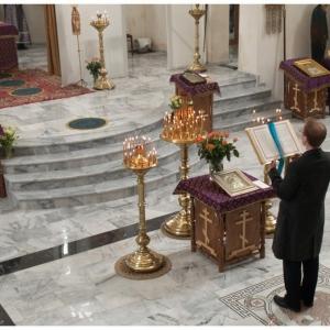 Pierwsza liturgia w nowej cerkwi (2009)-4