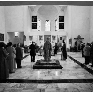Pierwsza liturgia w nowej cerkwi (2009)-5