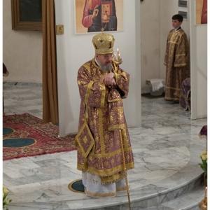 Pierwsza liturgia w nowej cerkwi (2009)-6