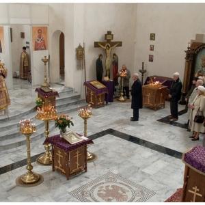 Pierwsza liturgia w nowej cerkwi (2009)-7