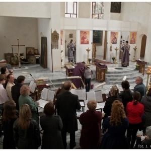 Pierwsza liturgia w nowej cerkwi (2009)-8