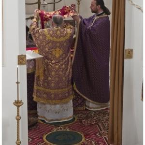 Pierwsza liturgia w nowej cerkwi (2009)-9