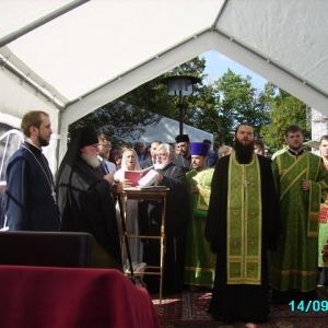 Poświęcenie Krzyża w Monasterze św. Jerzego (14.09.2013)_13