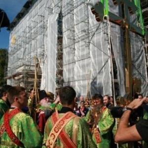 Poświęcenie Krzyża w Monasterze św. Jerzego (14.09.2013)_2