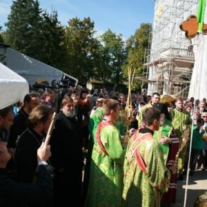Poświęcenie Krzyża w Monasterze św. Jerzego (14.09.2013)_4