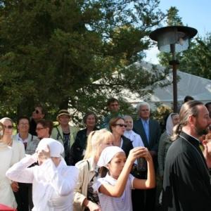 Poświęcenie Krzyża w Monasterze św. Jerzego (14.09.2013)